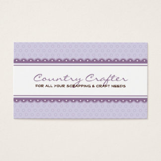 BUSINESS CARD :: pretty crafty 4