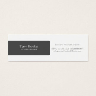Business Card | Profile |black