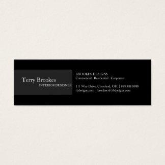 Business Card | Profile III |blk