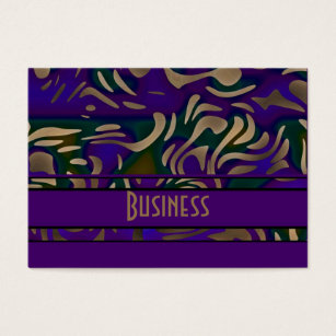 Purple and gold business cards business card printing zazzle business card purple gold animal print colourmoves