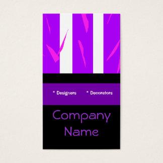 Business Card Purple Pink