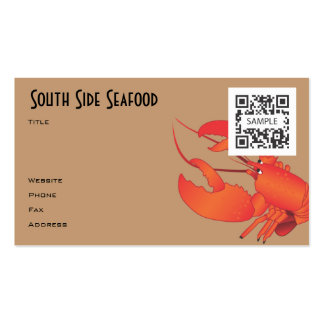 Business Card Seafood