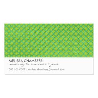 BUSINESS CARD :: simplistic-pattern 2L