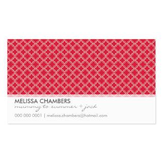 BUSINESS CARD :: simplistic-pattern 4L