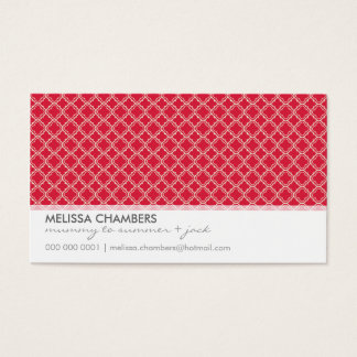 BUSINESS CARD :: simplistic-pattern 4L