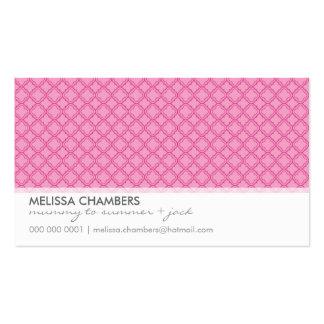 BUSINESS CARD :: simplistic-pattern 5L