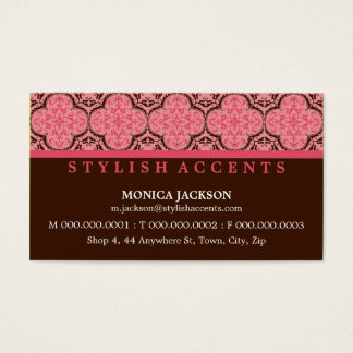 BUSINESS CARD :: stylishly antiqued L5