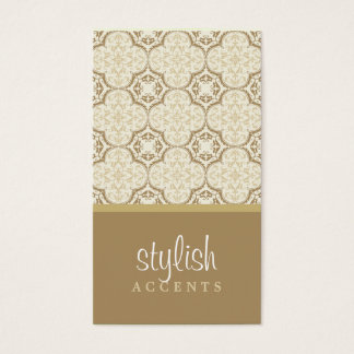 BUSINESS CARD :: stylishly antiqued P9