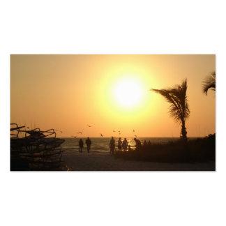 Business Card . . . sunset