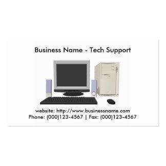 Business Card Tech Support