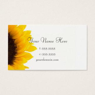Business Card Template **Bold Sunflower