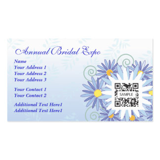 Business Card Template Bridal Expo