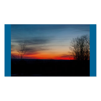 Business Card Template Design-Dreamy Sunset Business Card Template