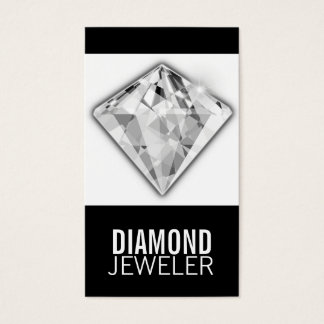 Business Card Template Diamond