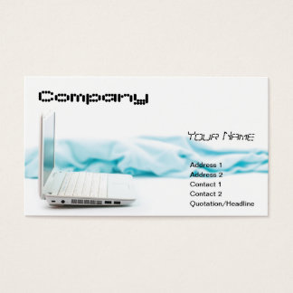 business card template lap, Your Name, Address ...