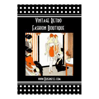 Business Card Vintage Retro Fashion Boutique Business Card