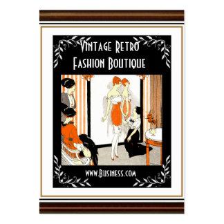 Business Card Vintage Retro Fashion Boutique 5 Business Card