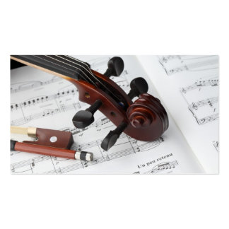 Business Card: Violin Lessons Pack Of Standard Business Cards