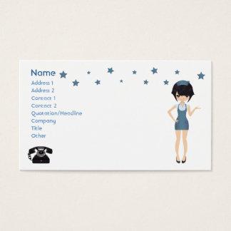 Business card waitress