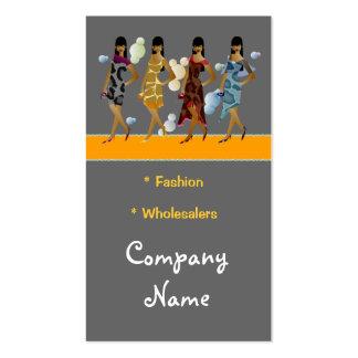 Business Card Wholesalers Clothing Fashion