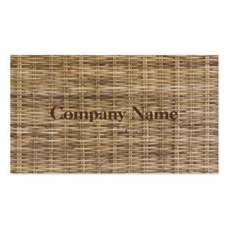 Business Card Wicker 1