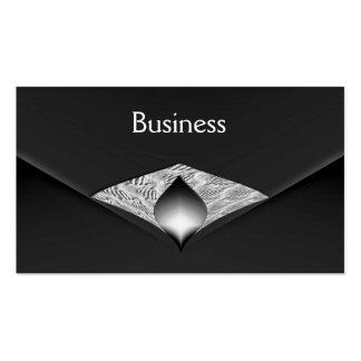 Business Card Zizzago Black Velvet Envelope