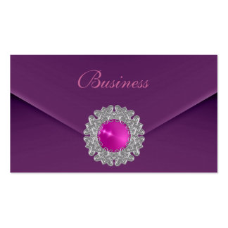 Business Card Zizzago Purple Look Image