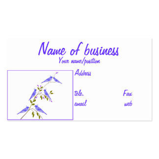Business cards  Blue Birds, or Design Your Own
