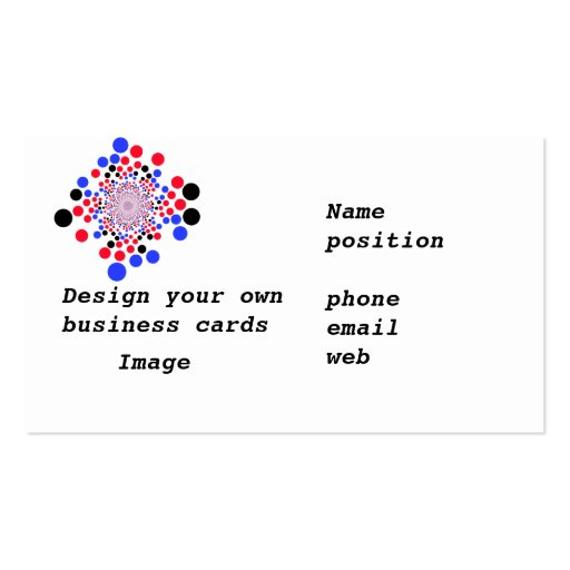 Business cards Design Your Own