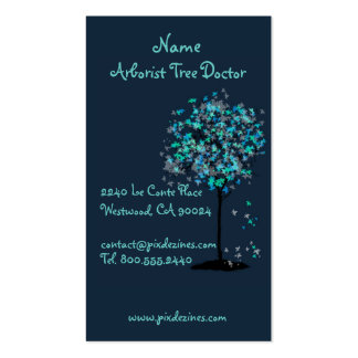 Business cards for landscaper tree trimmers