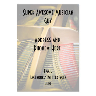 Business Cards for Musician