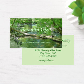 Business Cards--Nature Business Card