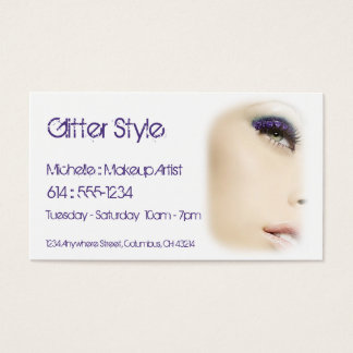 Business Cards :: Pretty Lady Eyeshadow/Makeup