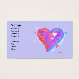 BUSINESS CARDS - Torn Heart