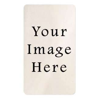 Business Cards Vertical Personalized Card Blank