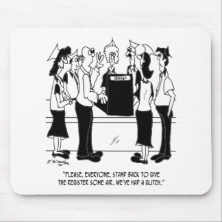 Business Cartoon 8453 Mouse Pad