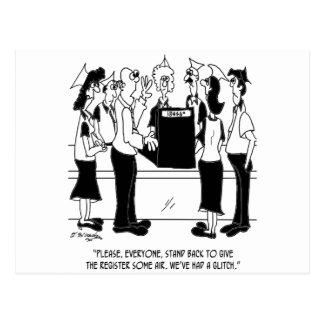 Business Cartoon 8453 Postcard