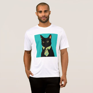 Business Cat Arty Tee