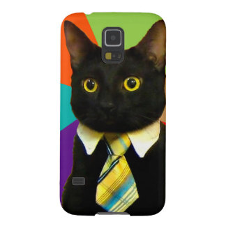 business cat - black cat galaxy s5 cases