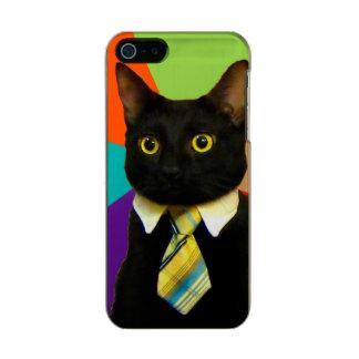 business cat - black cat incipio feather® shine iPhone 5 case