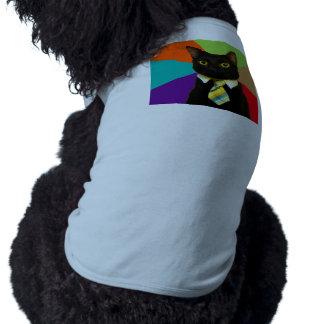business cat - black cat shirt