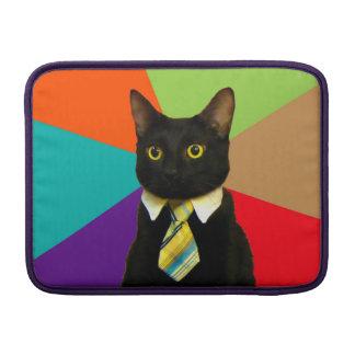 business cat - black cat sleeve for MacBook air