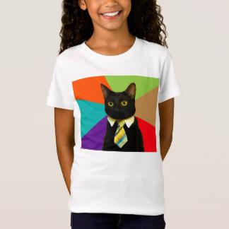 business cat - black cat T-Shirt