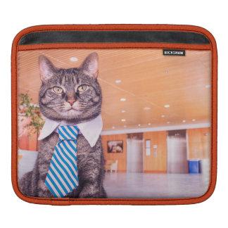 Business Cat Ipad cover