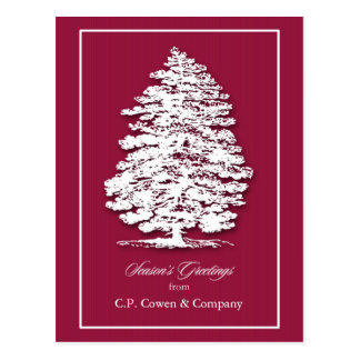 Business Christmas Postcard / Add Business Name