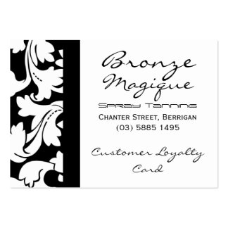 Business Customer Loyalty Cards Pack Of Chubby Business Cards
