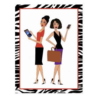 """Business Divas"" Postcard"