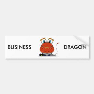 Business Dragon Bumper Sticker