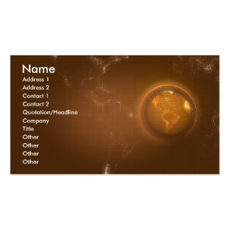 business_earth business card