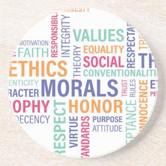 """Business Ethics"" Coaster"